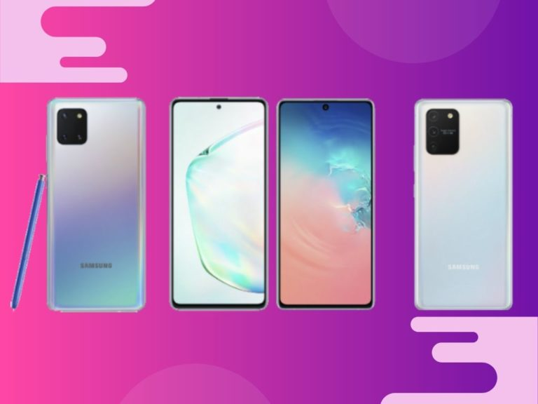 Samsung Galaxy S10 Lite y Note10 Lite: lo que hay que saber