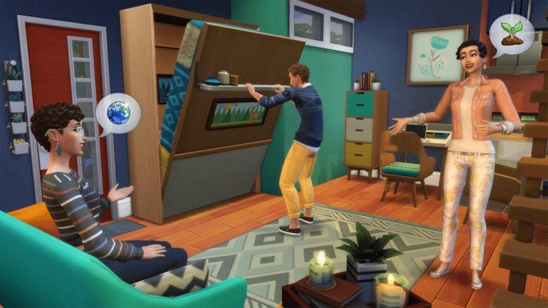 Sims 4 Mini casas, el pack de accesorios más amigable