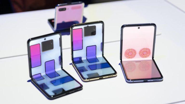 El nuevo teléfono plegable de Samsung