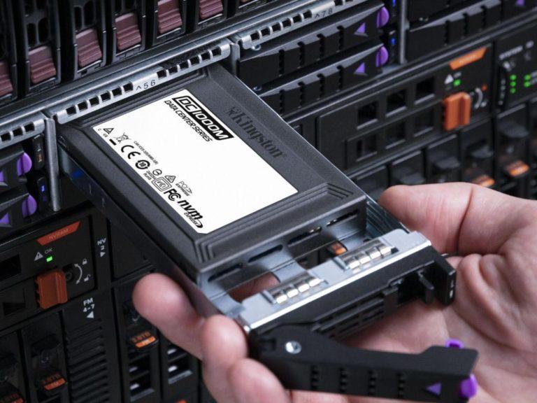 Kingston lanza SSD para la nueva generación de almacenamiento