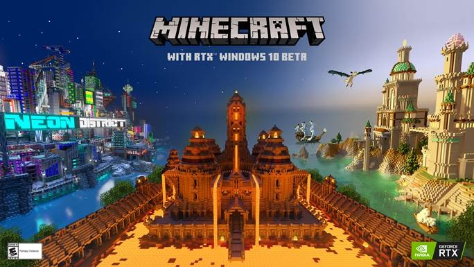 Llega la Beta de Minecraft con RTX
