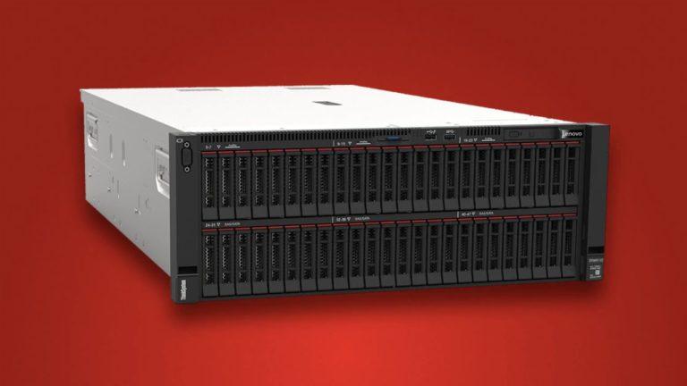 Servidores Lenovo con nuevas tecnologías de procesamiento y memoria