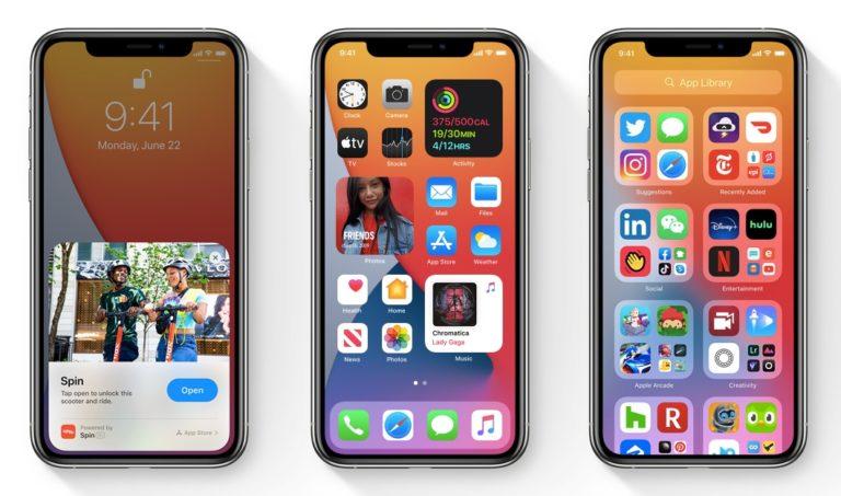 iOS 14: ¿Una pantalla de inicio configurable?