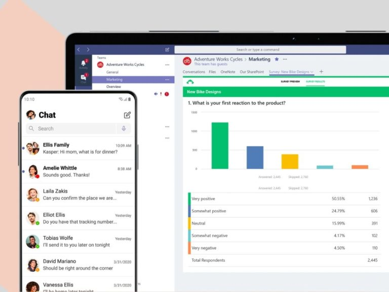 Microsoft Teams se actualiza para celulares