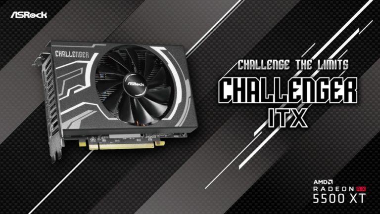 Radeon RX 5500 XT Challenger ITX 8G de ASRock, en Argentina