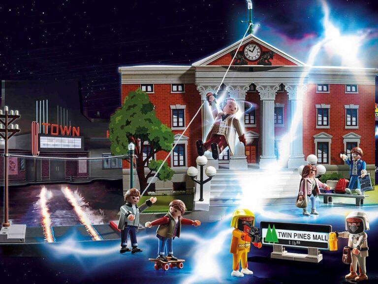 Playmobil lanzará una nueva colección de Back to the Future