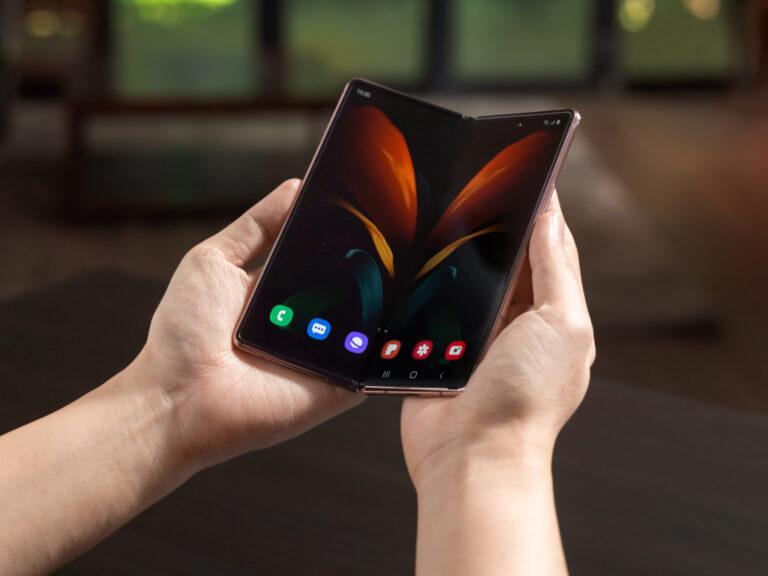 Galaxy Z Fold2: Pantalla enorme y plegable