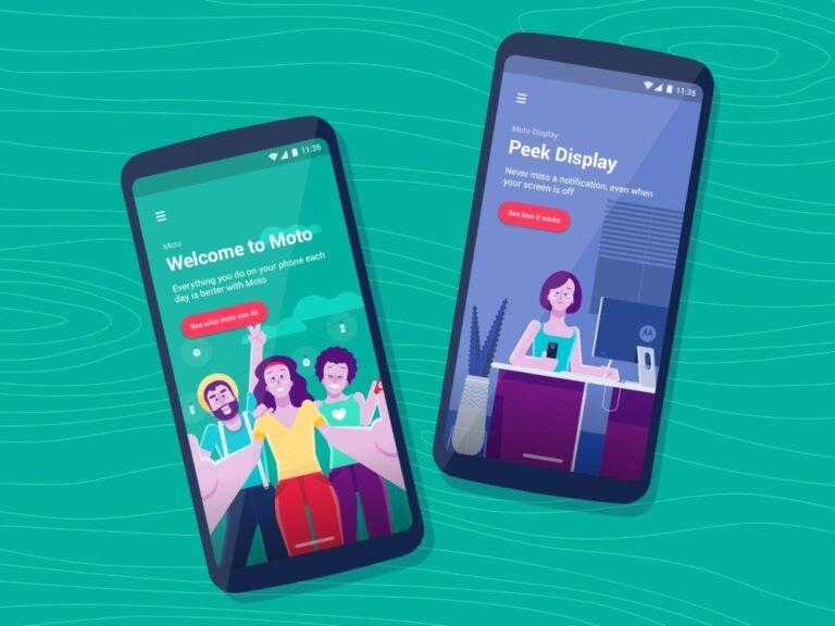 App Moto: Nueva actualización de la aplicación de Motorola