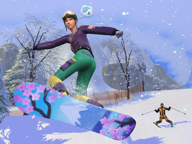 Los Sims se van a la nieve