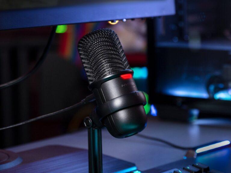 SoloCast: El micrófono de HyperX para streamers y creadores de contenido