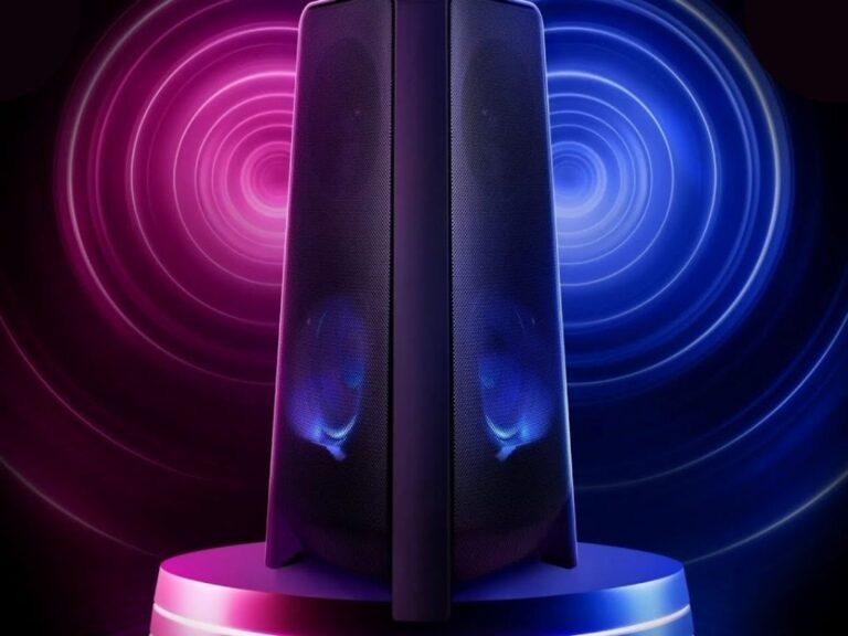 Samsung presenta sus nuevas Sound Towers
