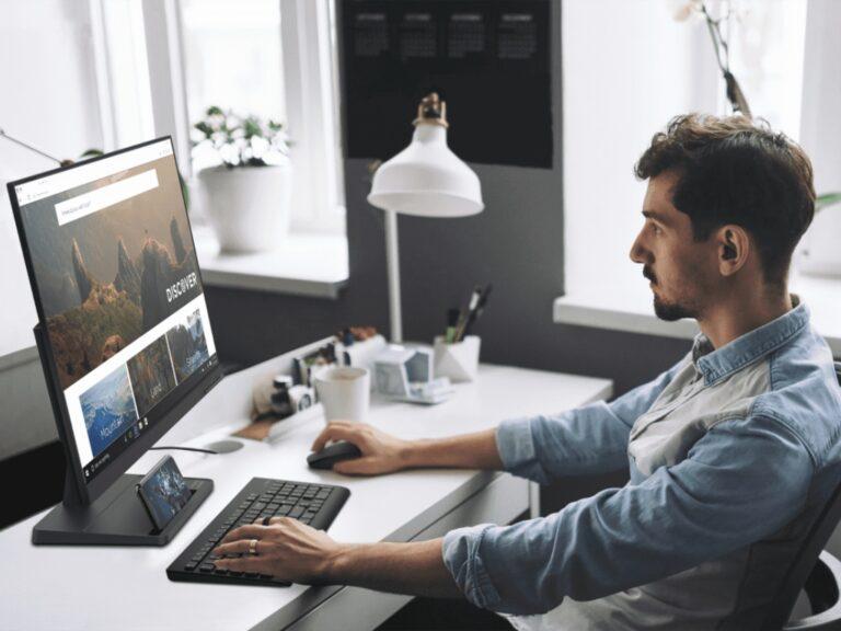Monitores que priorizan el diseño