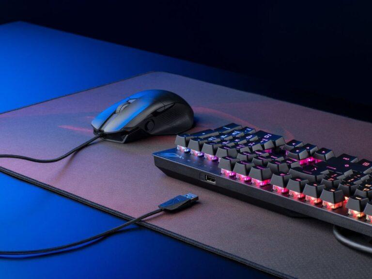 ROG Strix Scope RX, el nuevo teclado gaming de Asus
