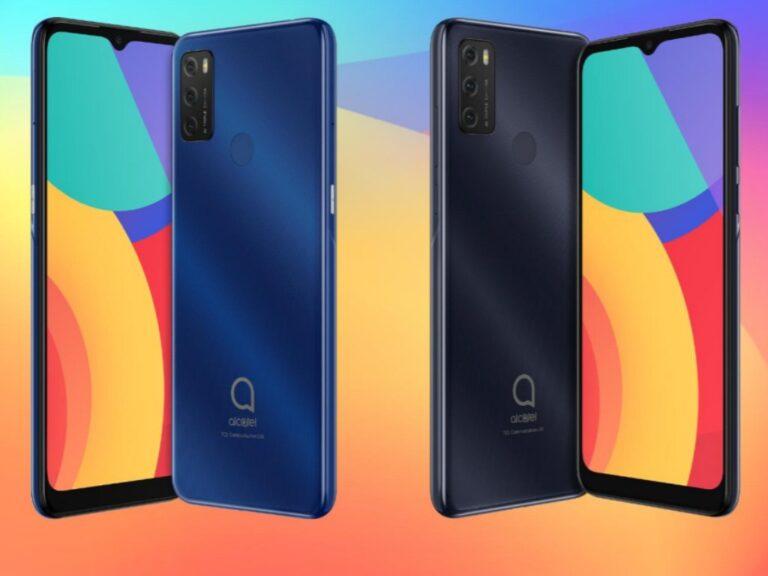 Alcatel presentó tres nuevos teléfonos
