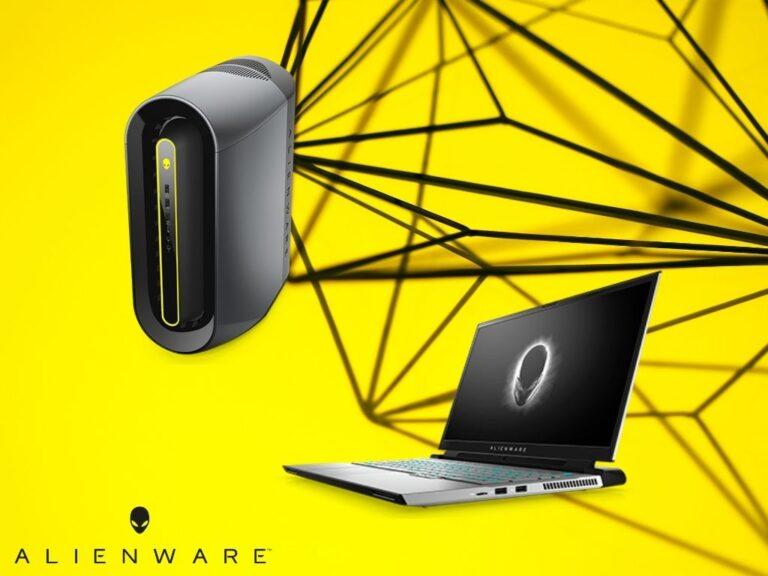 Nuevos lanzamientos de Alienware para gamers en movimiento