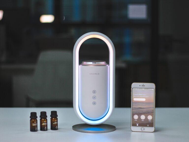 Un dispositivo que transforma la atmósfera del dormitorio y ayuda a dormir