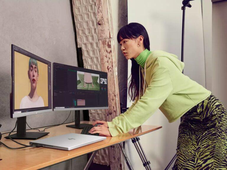 Dos nuevos monitores HP presentados en CES 2021