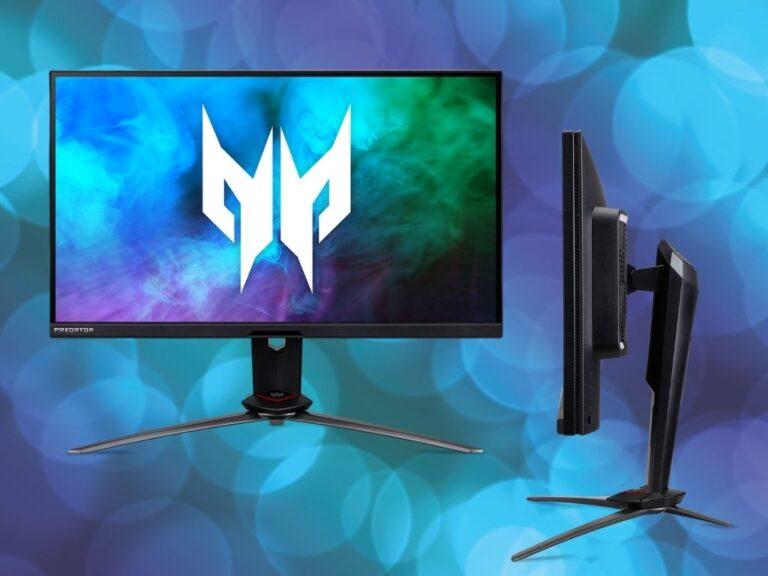 Acer amplía su gama de monitores gaming Predator y Nitro con tres nuevos modelos