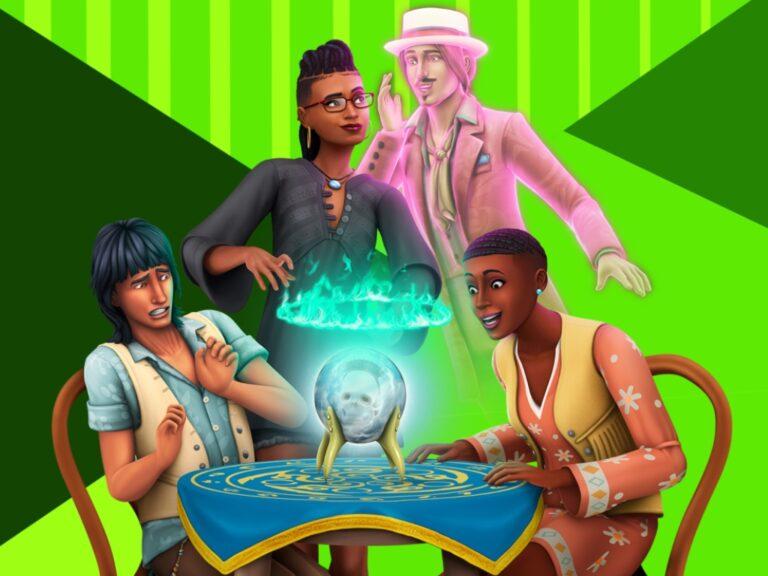 Nuevo pack: Los Sims 4 Fenómenos paranormales