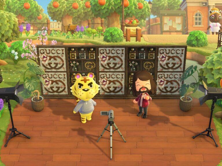 Gucci Beauty y su isla en Animal Crossing: New Horizons