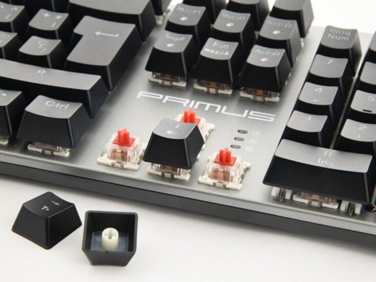El nuevo teclado mecánico gamer de Primus