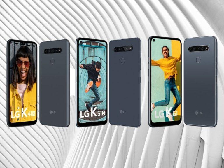 LG actualiza su Serie K de gama media