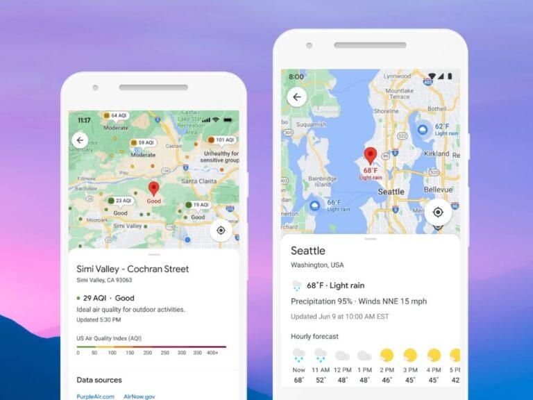 Nuevas funcionalidades en Google Maps