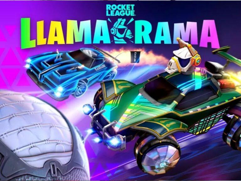 Vuelve Llama-Rama, el evento que une a Fortnite y Rocket League