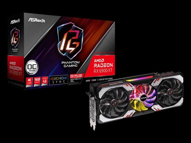 ASRock presenta Radeon RX 6900 XT Phantom Gaming D 16G OC