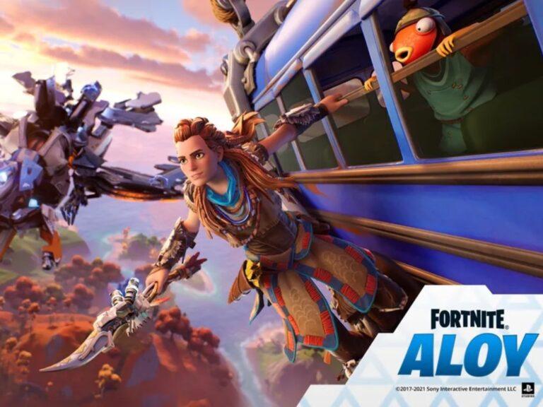 Aloy llega a Fortnite como la última miembro de la serie de leyendas del juego