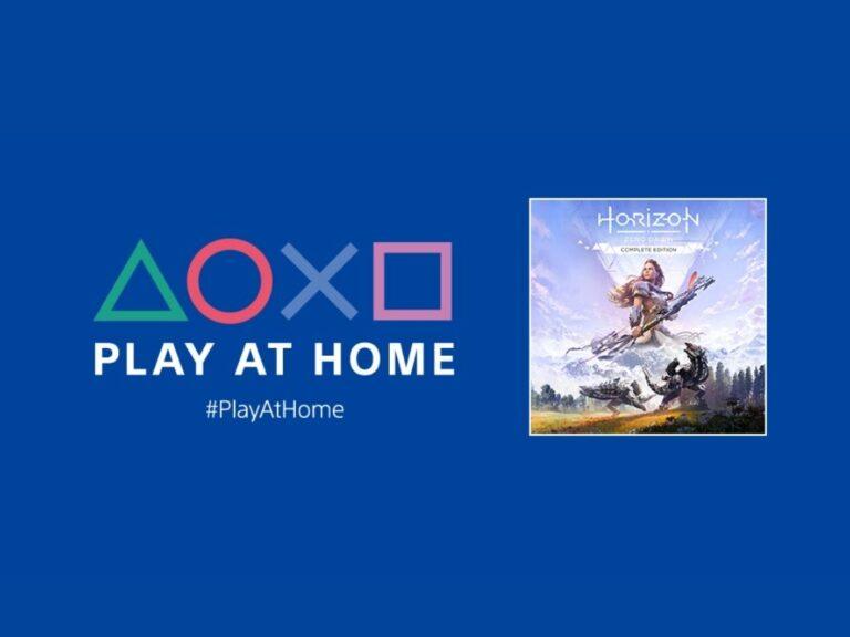 Horizon Zero Dawn se podrá descargar de manera gratuita en una nueva edición de Play At Home