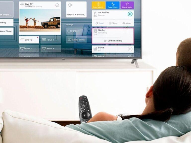 LG presenta su lineal de TV 2021