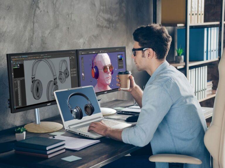 SpatiaLabs de Acer: nuevas experiencias para creadores