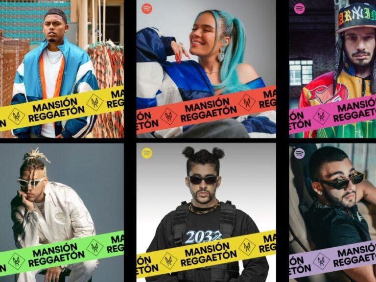 Mansión Reggaetón: la playlist de Spotify más escuchada en Latinoamérica