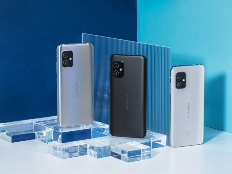 ASUS presentó los nuevos Zenfone 8