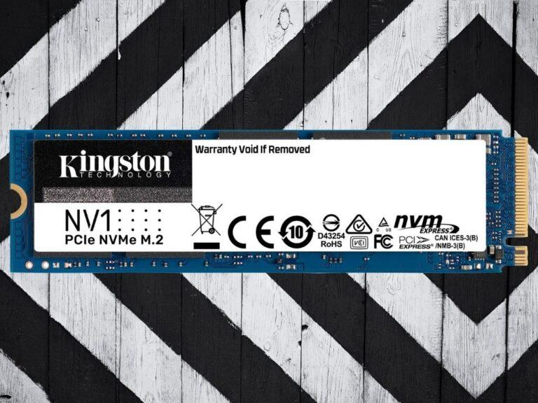 Nuevo SSD NV1 de Kingston Tecnology