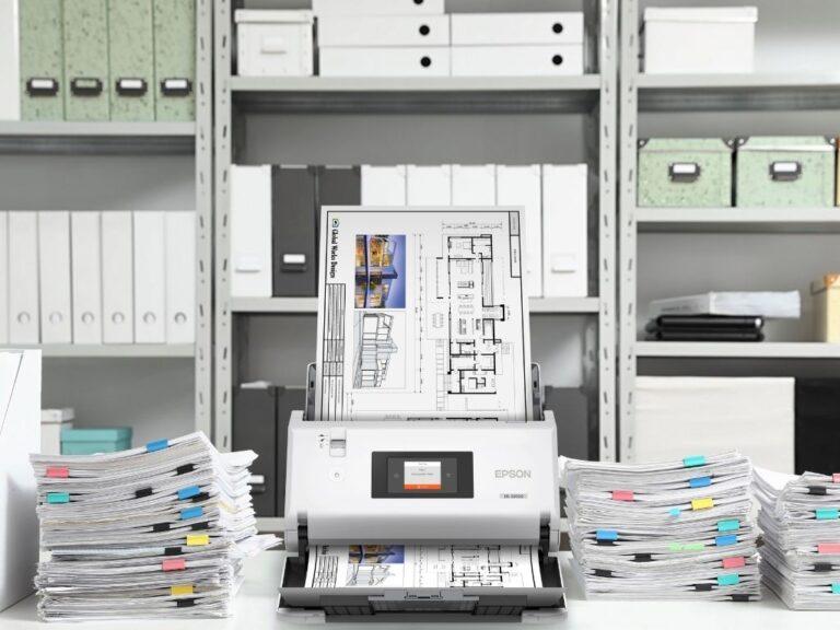 Epson presenta dos nuevos escáneres de documentos de gran formato