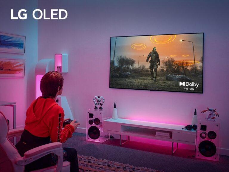 Los juegos en los TVs LG Premium alcanzan nuevos niveles con la última actualización de Dolby Vision