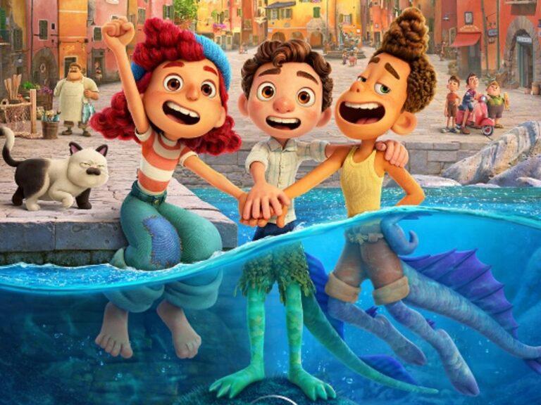 Secretos del arte, la animación y la música de LUCA, la película de Disney y Pixar
