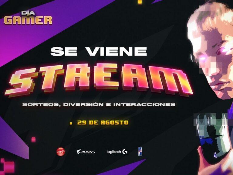 Logitech G celebra el Día del Gamer con un streaming legendario