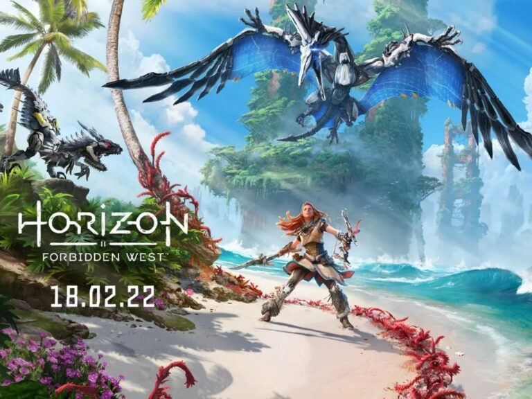 """PlayStation anuncia fecha de lanzamiento de """"Horizon Forbidden West"""""""