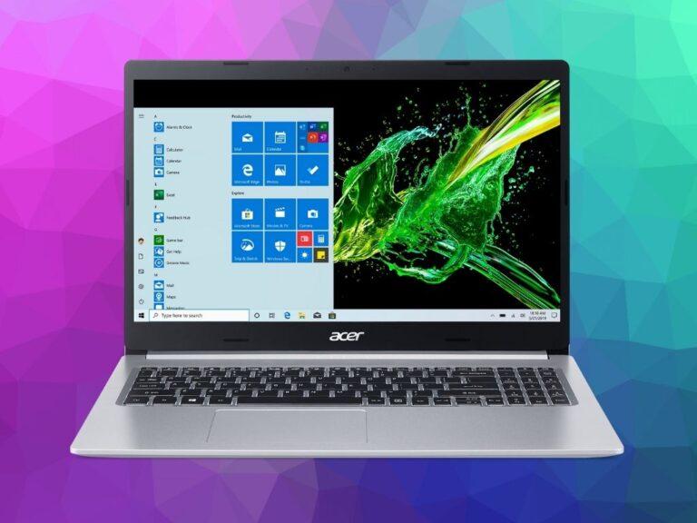 Notebooks Acer para regalar el día del niño