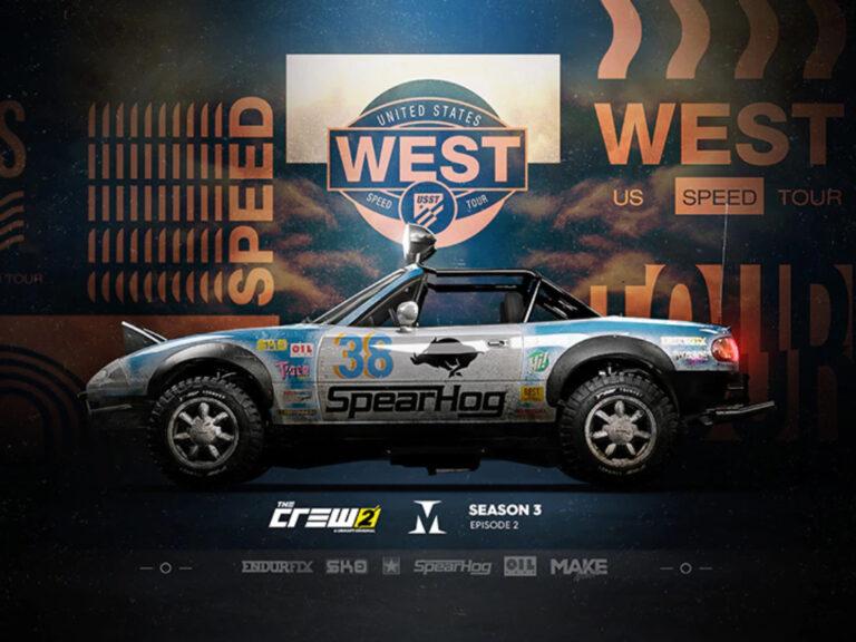 US Speed Tour West, ya disponible