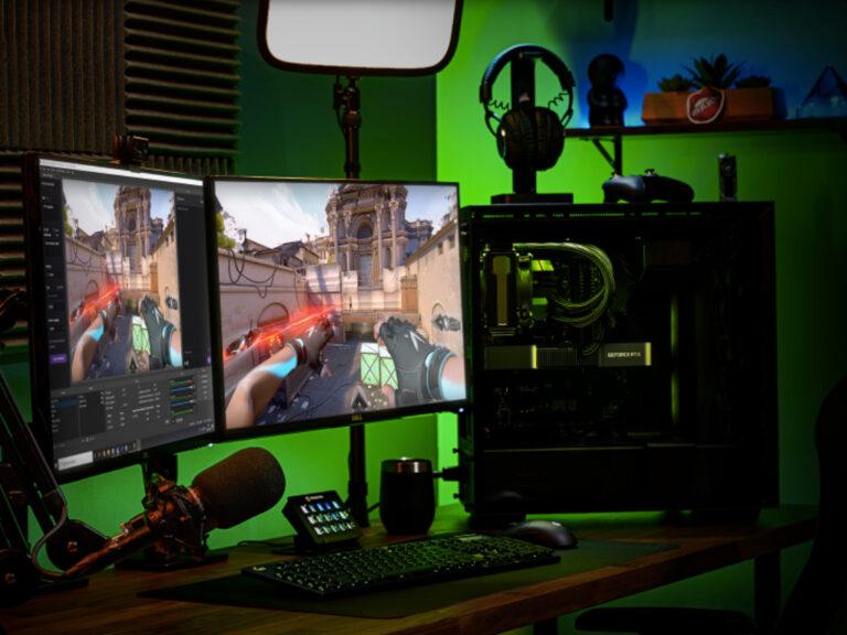 La nueva actualización de NVIDIA Broadcast promete mejoras en streamings y videollamadas