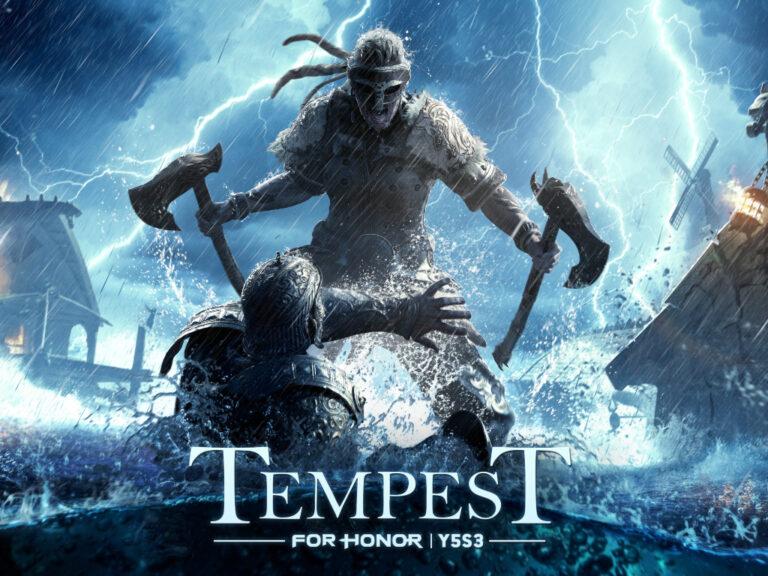 Se estrena la Temporada 3 del Año 5 de For Honor, Tempest