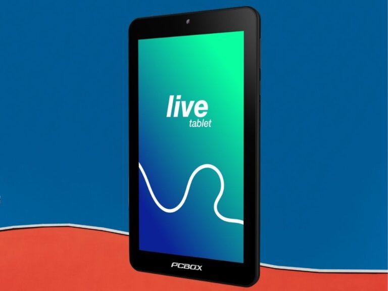 Nueva Tablet Live de PCBOX