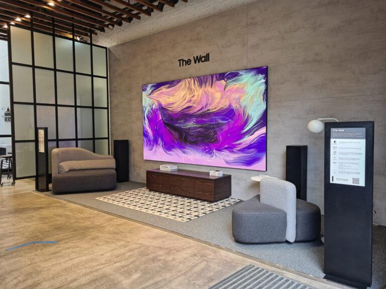 The Wall: la pantalla más grande de Samsung llega a Argentina
